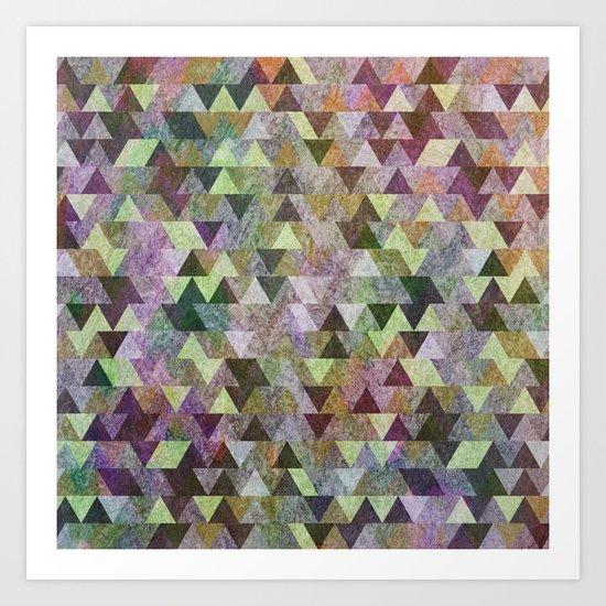 Geometric Pattern VIII Art Print