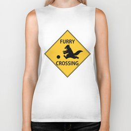 Furry crossing Biker Tank