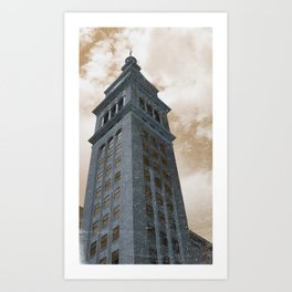 Weathered & Faded Art Print