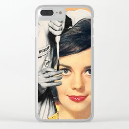 Face engineer Clear iPhone Case