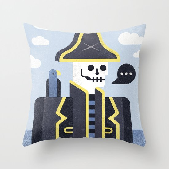 Dead Men Tell No Tales Throw Pillow