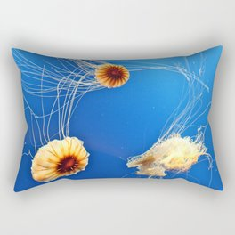 """""""One's Company, Two's a Crowd, and Three's a Party."""" Rectangular Pillow"""