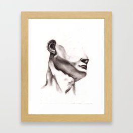 The Head of David Framed Art Print