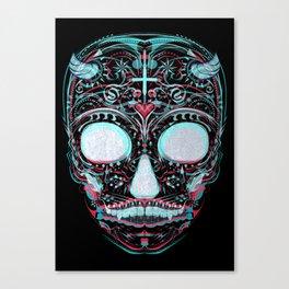 Sweets and Skulls Canvas Print