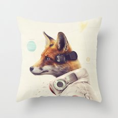 Star Team - Fox Throw Pillow