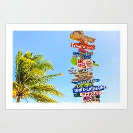 travel #society6 #decor #buyart #homedecor Art Print