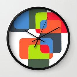 Mosaics 1 Wall Clock