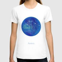 Constellation Aquarius T-shirt