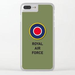 Royal Air Force RAF UK British England WW2 Clear iPhone Case