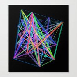 Colorful Rainbow Prism Canvas Print