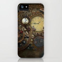 Steampunk Clocks iPhone Case