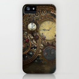 Steampunk Clocks iPhone Case