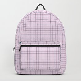 Not Your Granny's Square Pattern in Millennial Pink Backpack