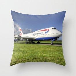 Jumbo Convoy Throw Pillow