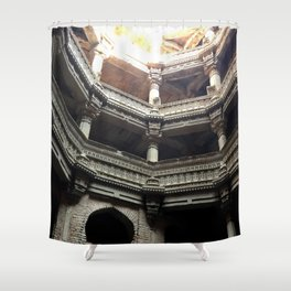 I'm Wishing in India Shower Curtain