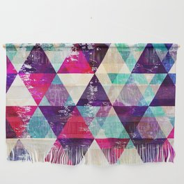 "Retro Geometrical Abstract Design ""Josephine"" inspired Wall Hanging"