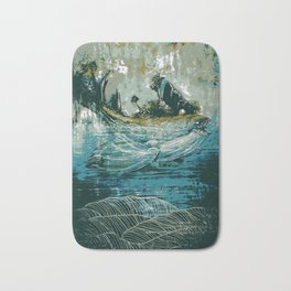 The Sound That Carries Across the Ocean Bath Mat