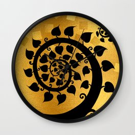 Bodhi Tree0601 Wall Clock