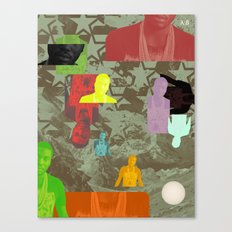 Rain Pope (Remind Me) Canvas Print