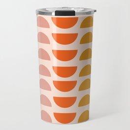 Retro 70s Geometrics Travel Mug