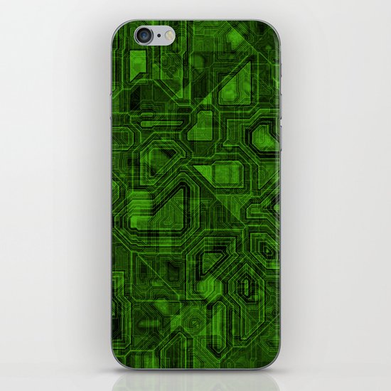 Green Tech iPhone Skin