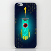 transistor iPhone & iPod Skins featuring Transistor by CyberneticGhost