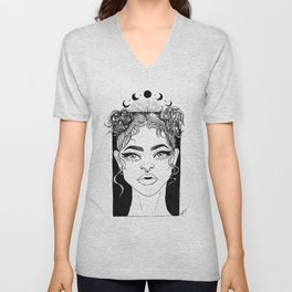 Lunar Queen Unisex V-Neck