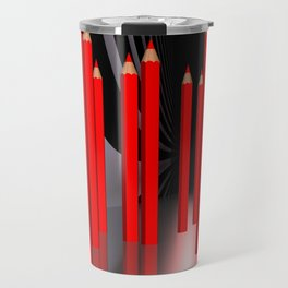 just some pencils -2- Travel Mug