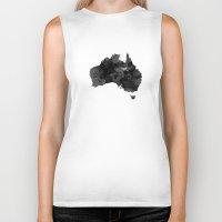 australia Biker Tanks featuring Australia by Jeremy Taylor Hamann