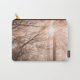 Misty Sun Kissed Trail Carry-All Pouch