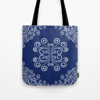 blueprint Tote Bags featuring Blueprint by Hind686