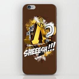You Ain't A Lambda? SHEEESH!!! iPhone Skin