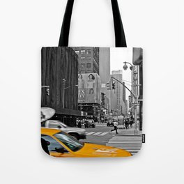 NYC - Yellow Cabs - The City Tote Bag