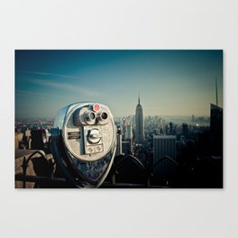 The Top of the Rock Canvas Print