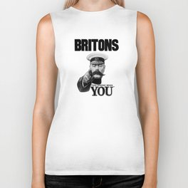 Britons Your Country Needs You - Lord Kitchener Biker Tank