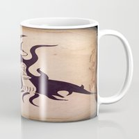 mother Mugs featuring Mother by Gerard Marinaccio