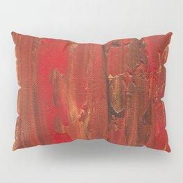 Tree Bark, Abstract Acrylic Pillow Sham