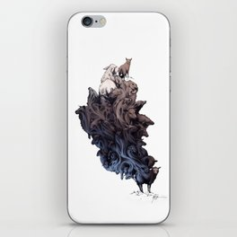 Did you see the Wolf? iPhone Skin