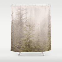 into the wild Shower Curtains featuring Wild..... by Guido Montañés