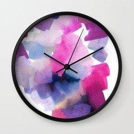 Nod Abstract Painting Wall Clock
