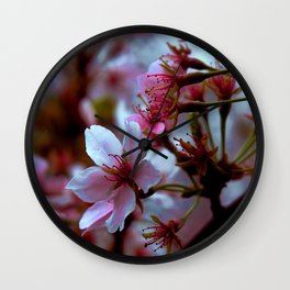 blooming in New england Wall Clock