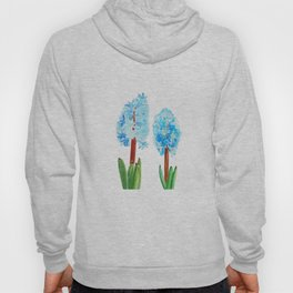 blue hyacinth Hoody