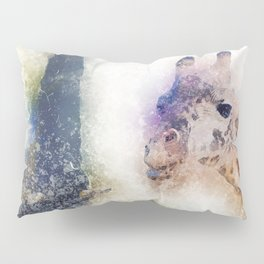Animals Painting Pillow Sham