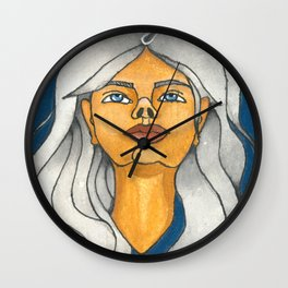 Look Skyward Wall Clock