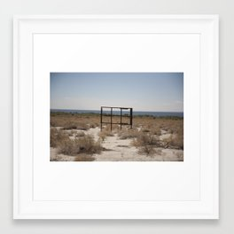 The Salton Sea Framed Art Print