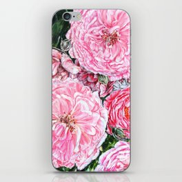 CELEBRATIONS - PEONIES GALORE- Original Fine art floral painting by HSIN LIN / HSIN LIN ART iPhone Skin