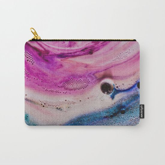PINK AND BLUE GRADIENTS MIXING Carry-All Pouch