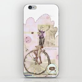 above the clouds iPhone Skin