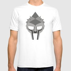 GLADIATOR White SMALL Mens Fitted Tee