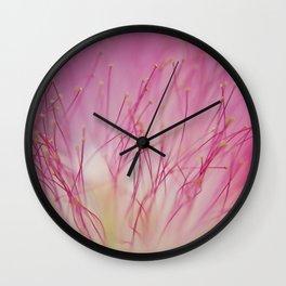 Mimosa Bloom Wall Clock